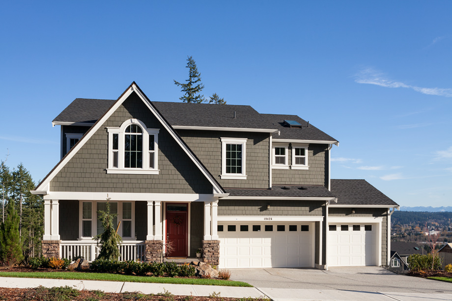 Gig harbor wa new construction homes bayview at gig harbor for New homes with 3 car garage