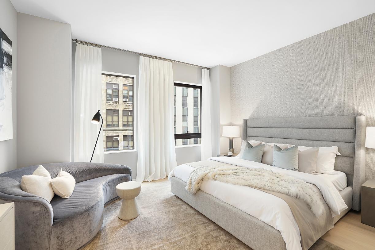 Spacious bedroom retreats