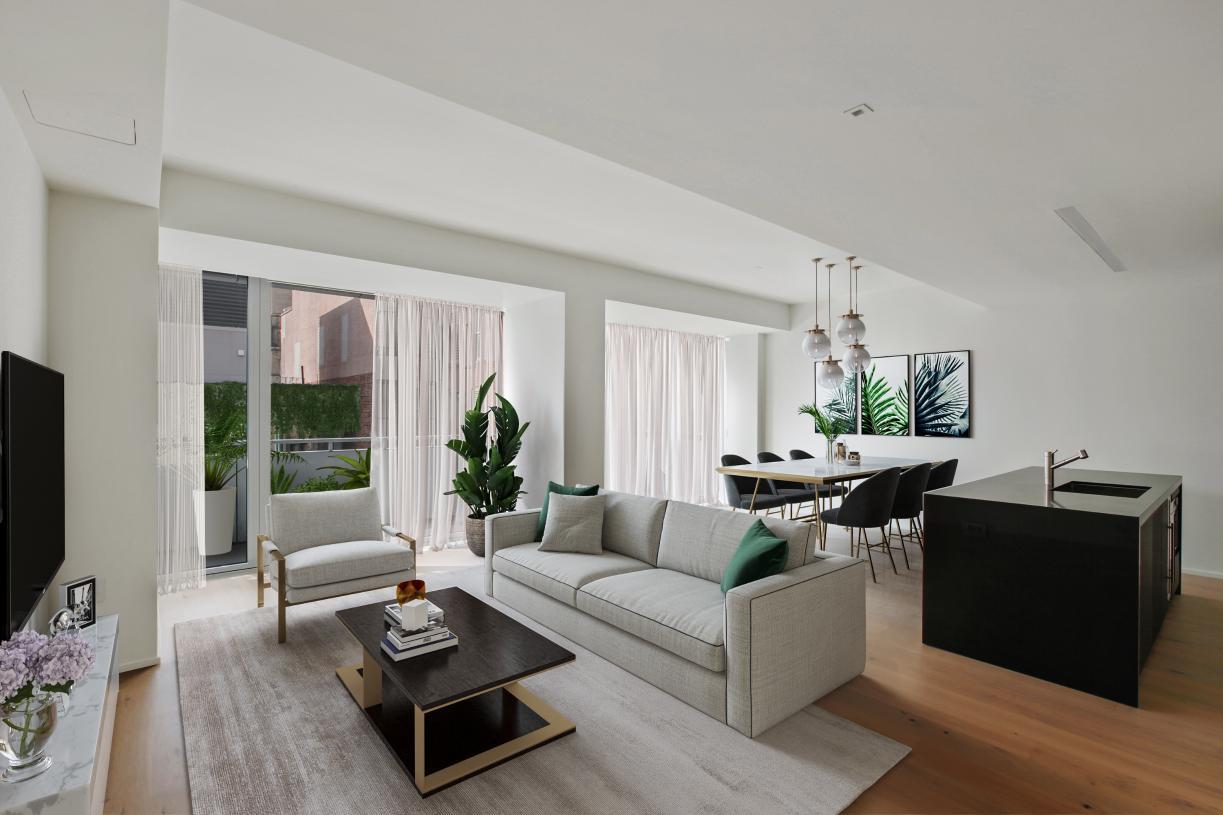 Residence N1202 living room