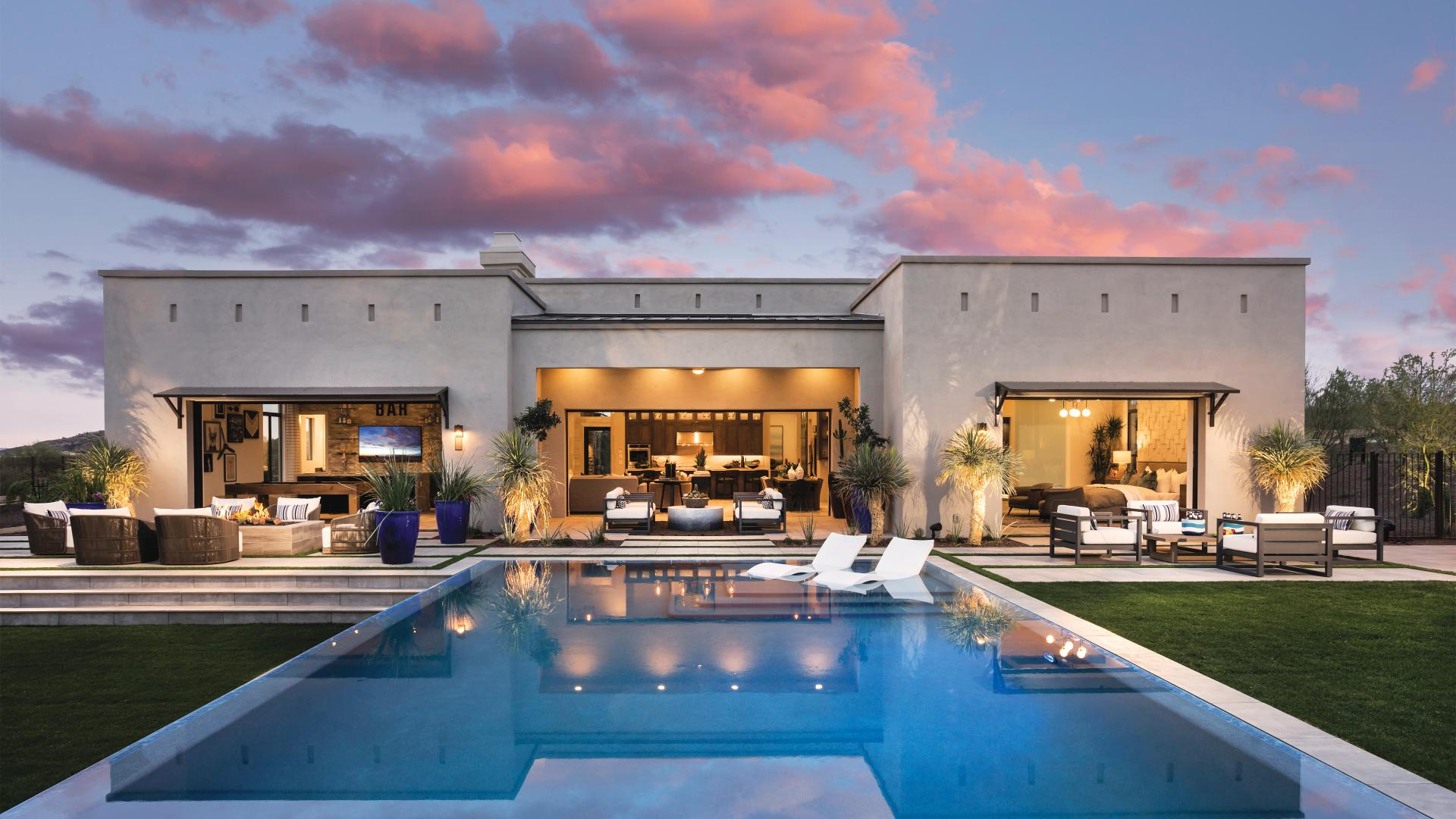 Spacious home sites provide endless outdoor living options