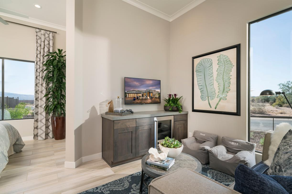 Secluded multi-gen suite with living space