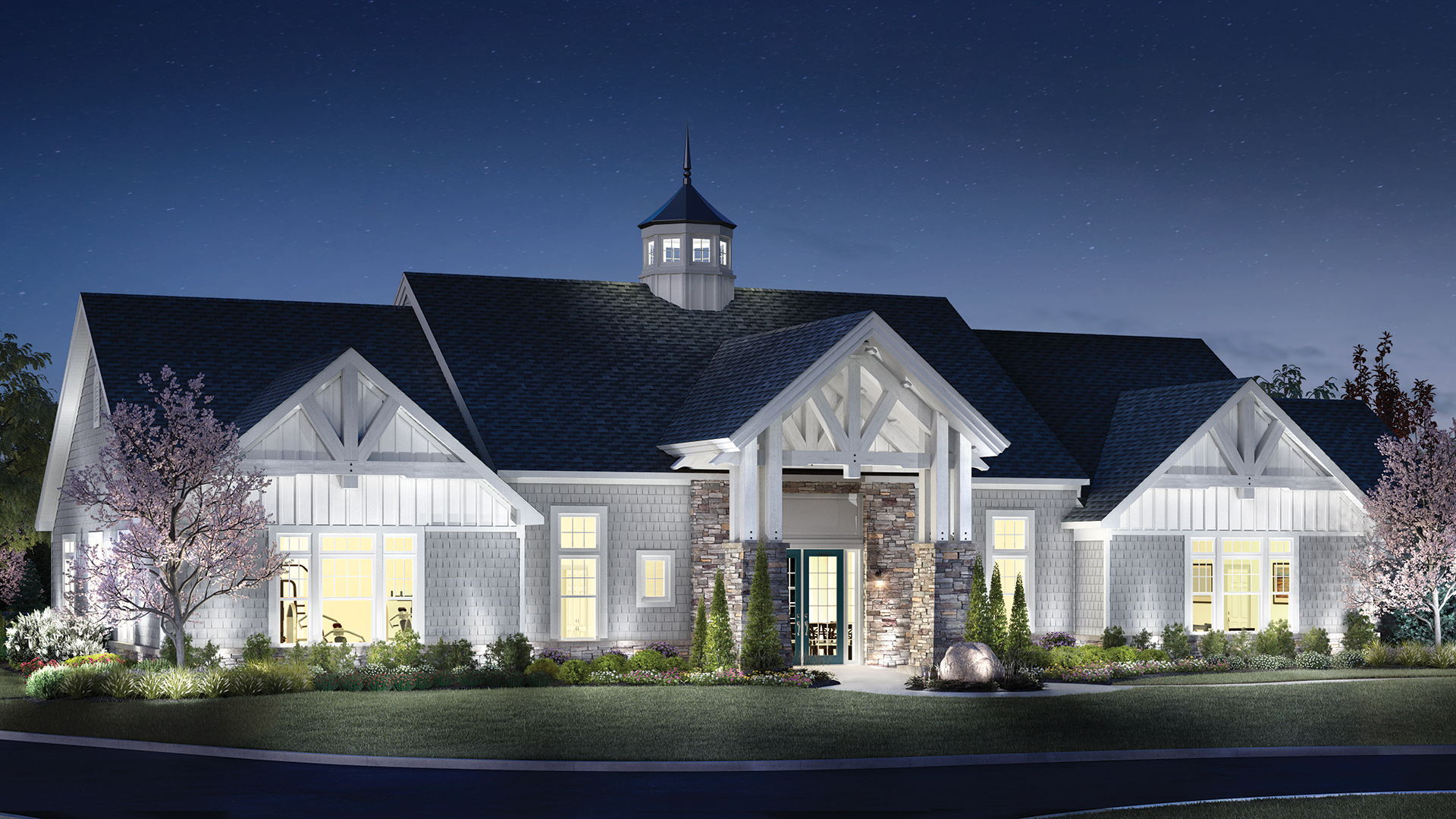 Future Vista Club - A 3,900-square-foot clubhouse with fitness center, main hall, mailroom and more