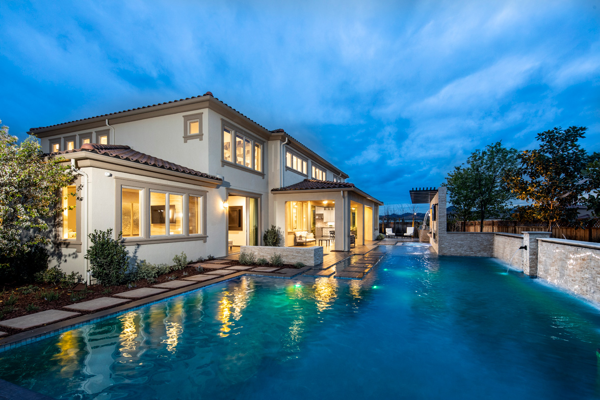 Multiple home options for indoor to outdoor living spaces