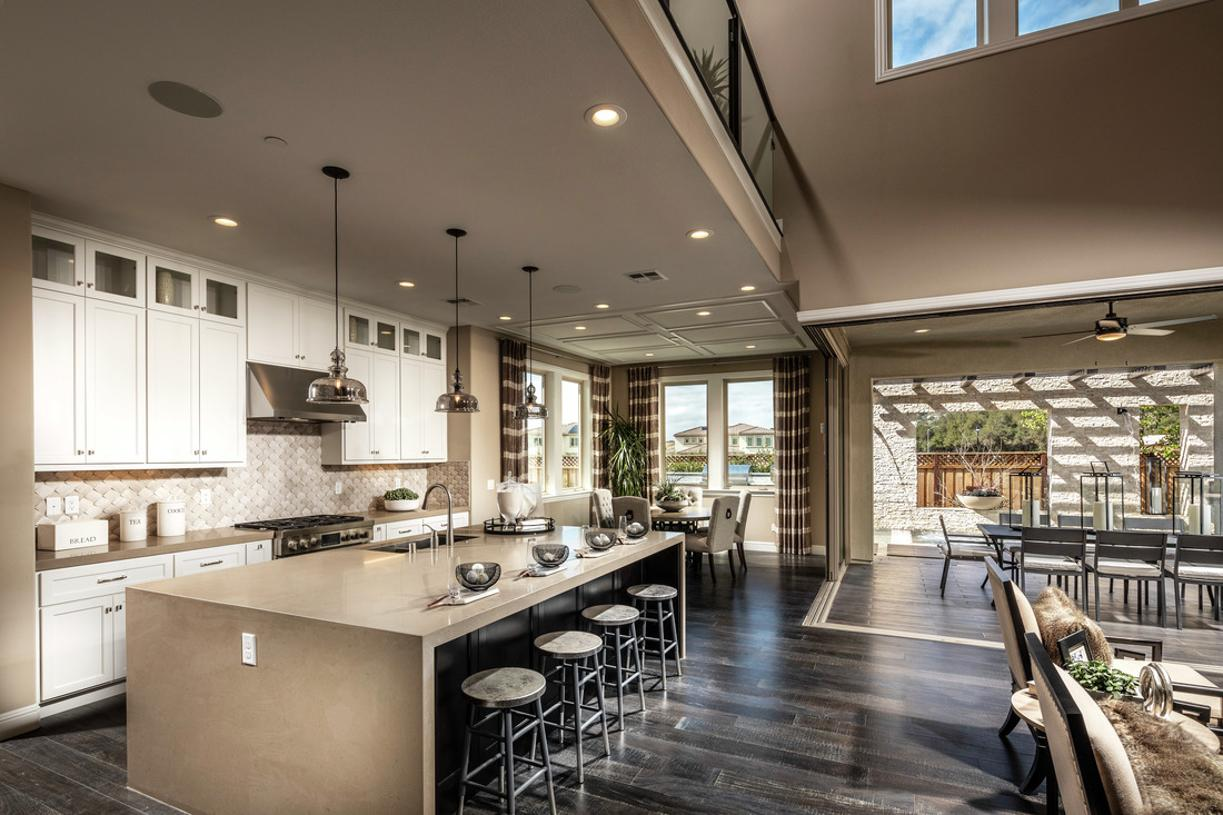 Stately and well-appointed kitchen