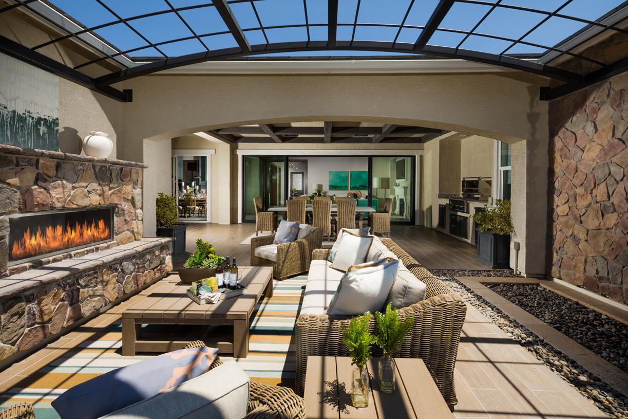 Malta patio and outdoor room