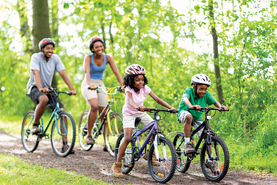 Enjoy the walking and biking trails that surround Sorrento Trail.