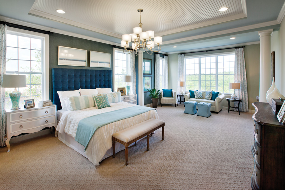 bayhill master bedroom with den