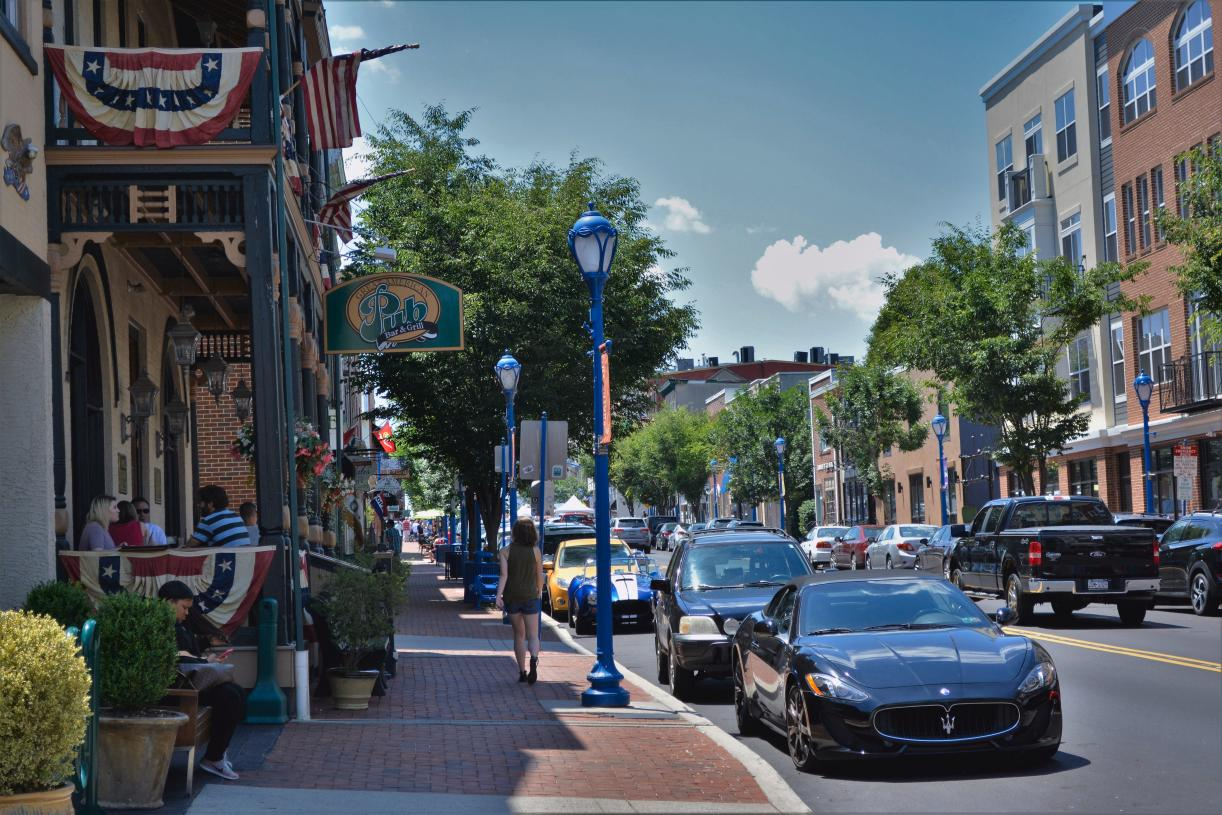 Enjoy shopping and dining in downtown Phoenixville