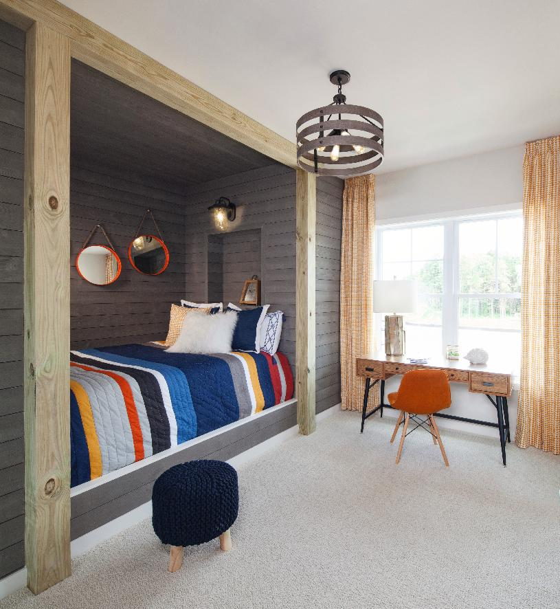 Light filled secondary bedrooms