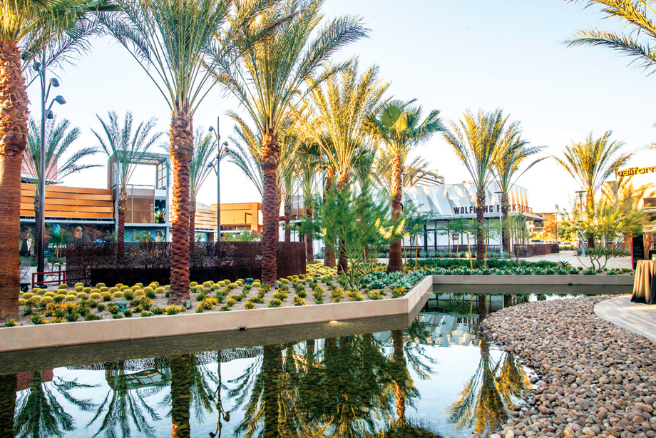 Downtown Summerlin is a mere five minutes away with over 125 shops and restaurants, including Macy's, Dillard's and Michael Kors.