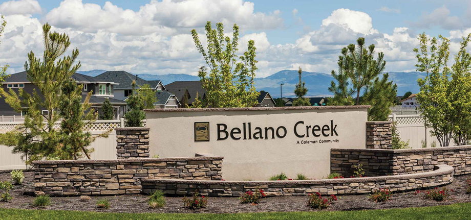 Toll Brothers - Bellano Creek Photo