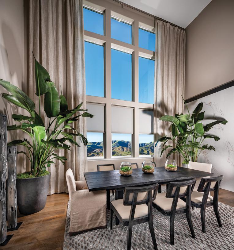 Large windows allowing plenty of light in