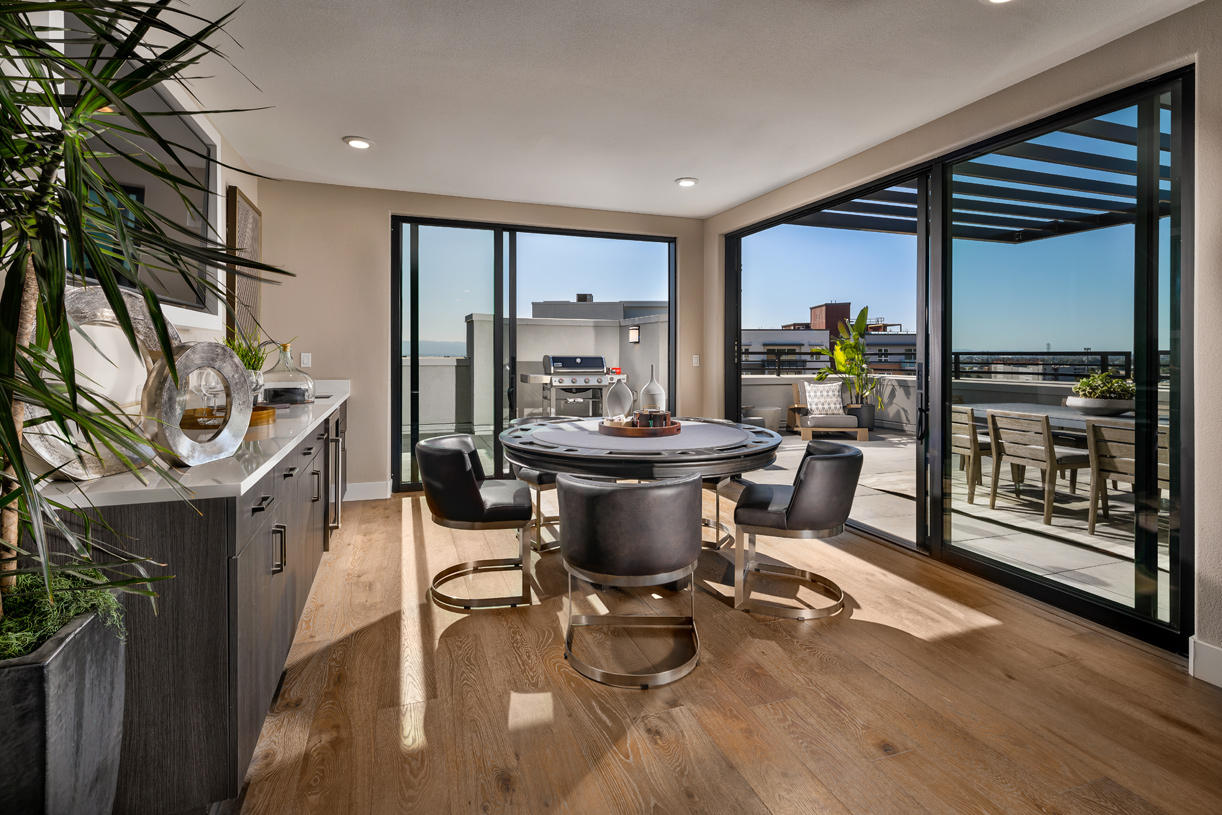 Penthouse units available