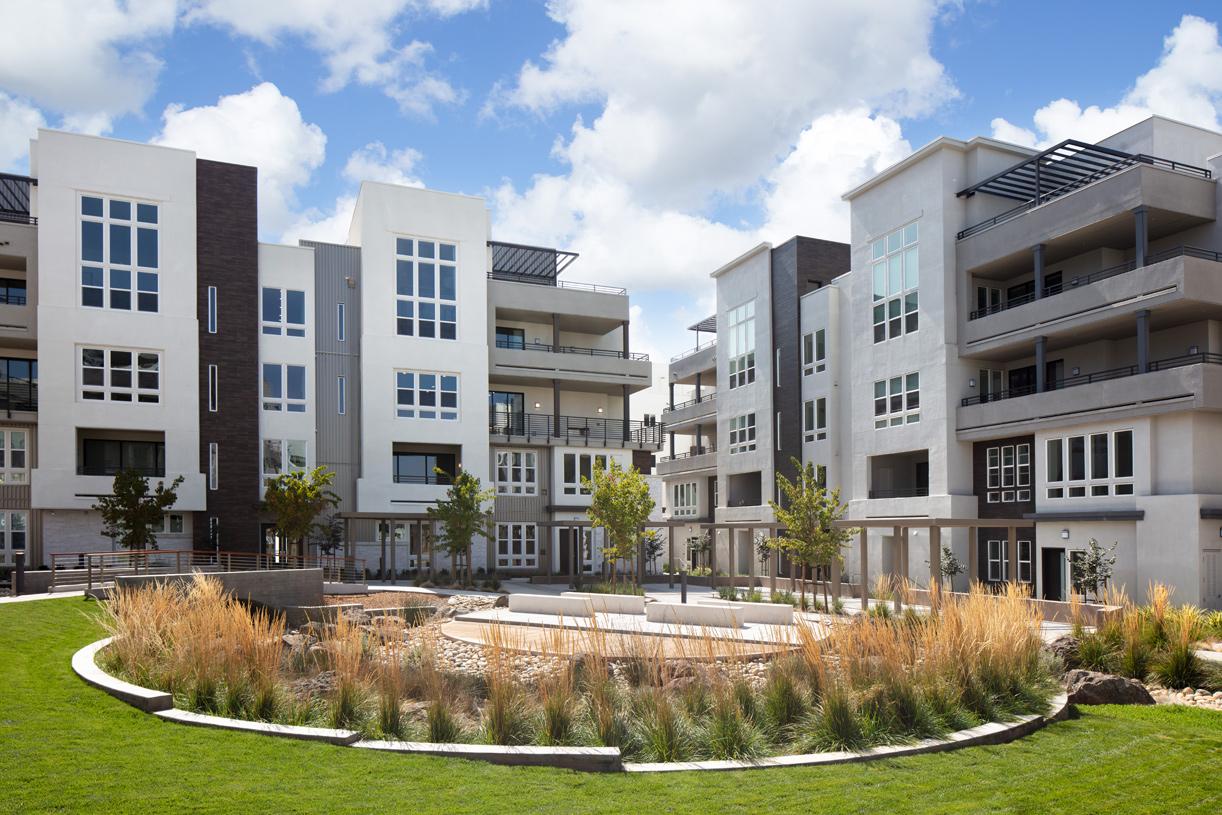 Neighborhood courtyard