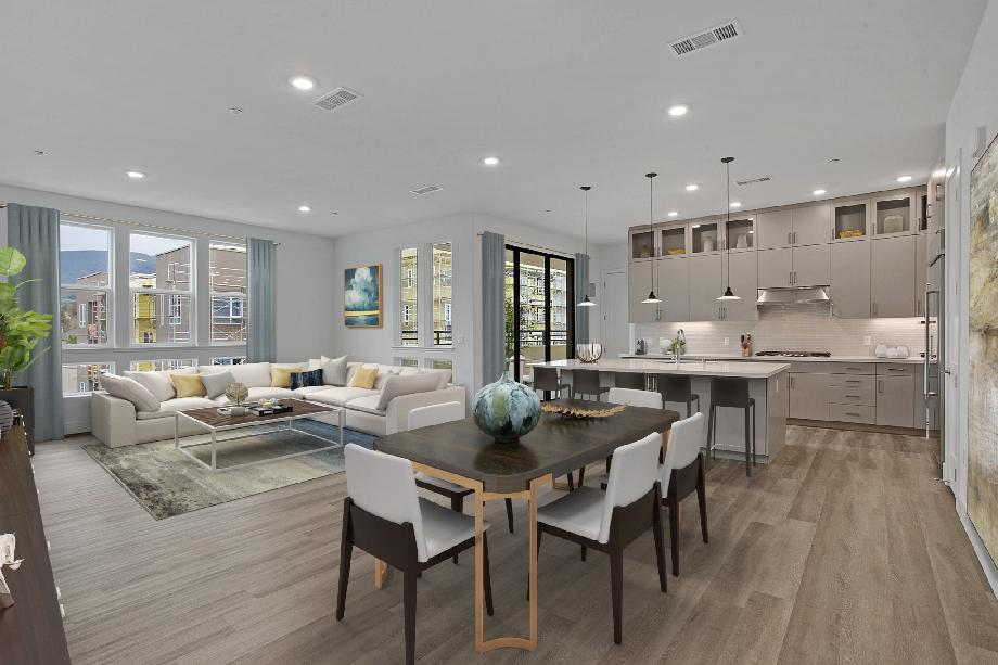 Open floorplan - Kitchen &great room