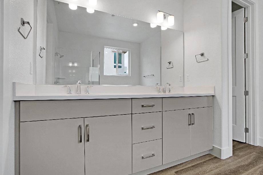 Oversized Primary Bathroom vanity