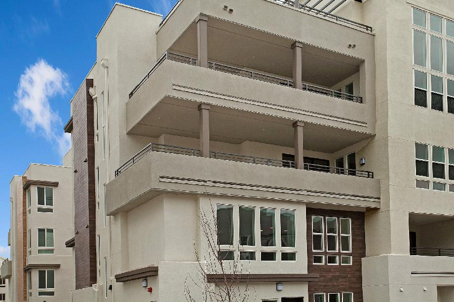3rd floor corner unit with oversize balcony