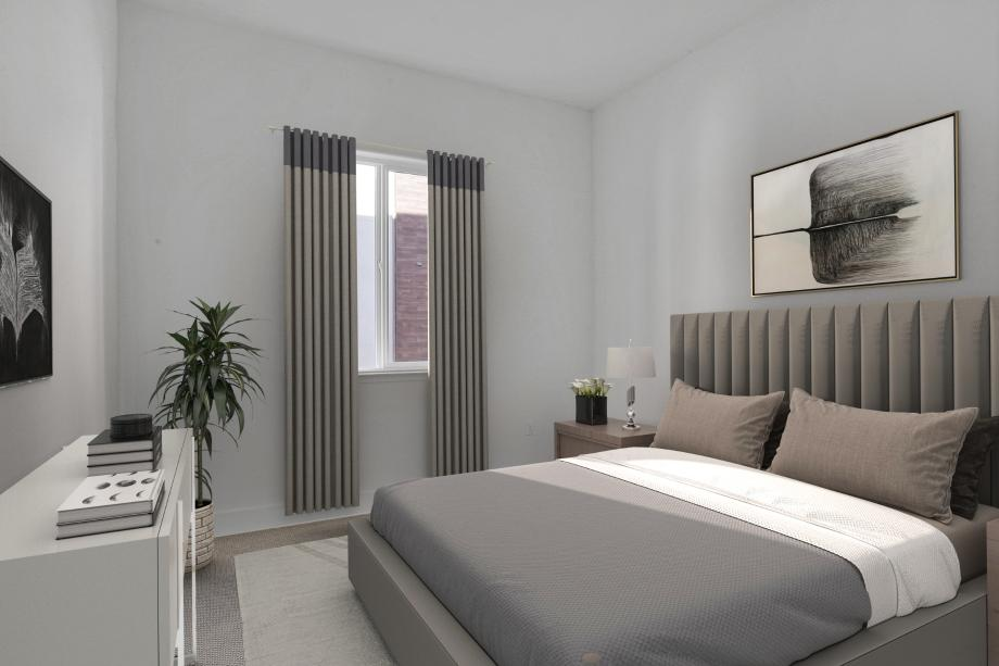 Elegant Secondary Bedroom