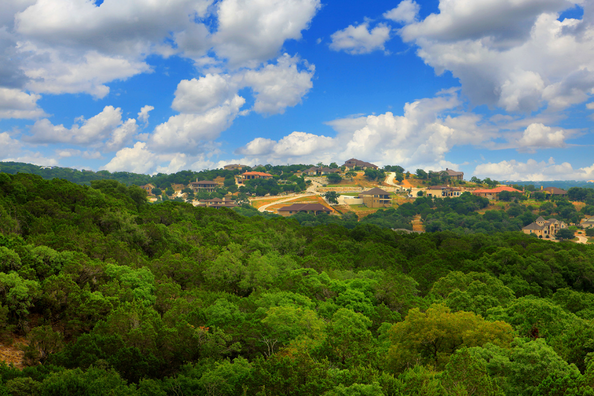 Soaring Hill Country views