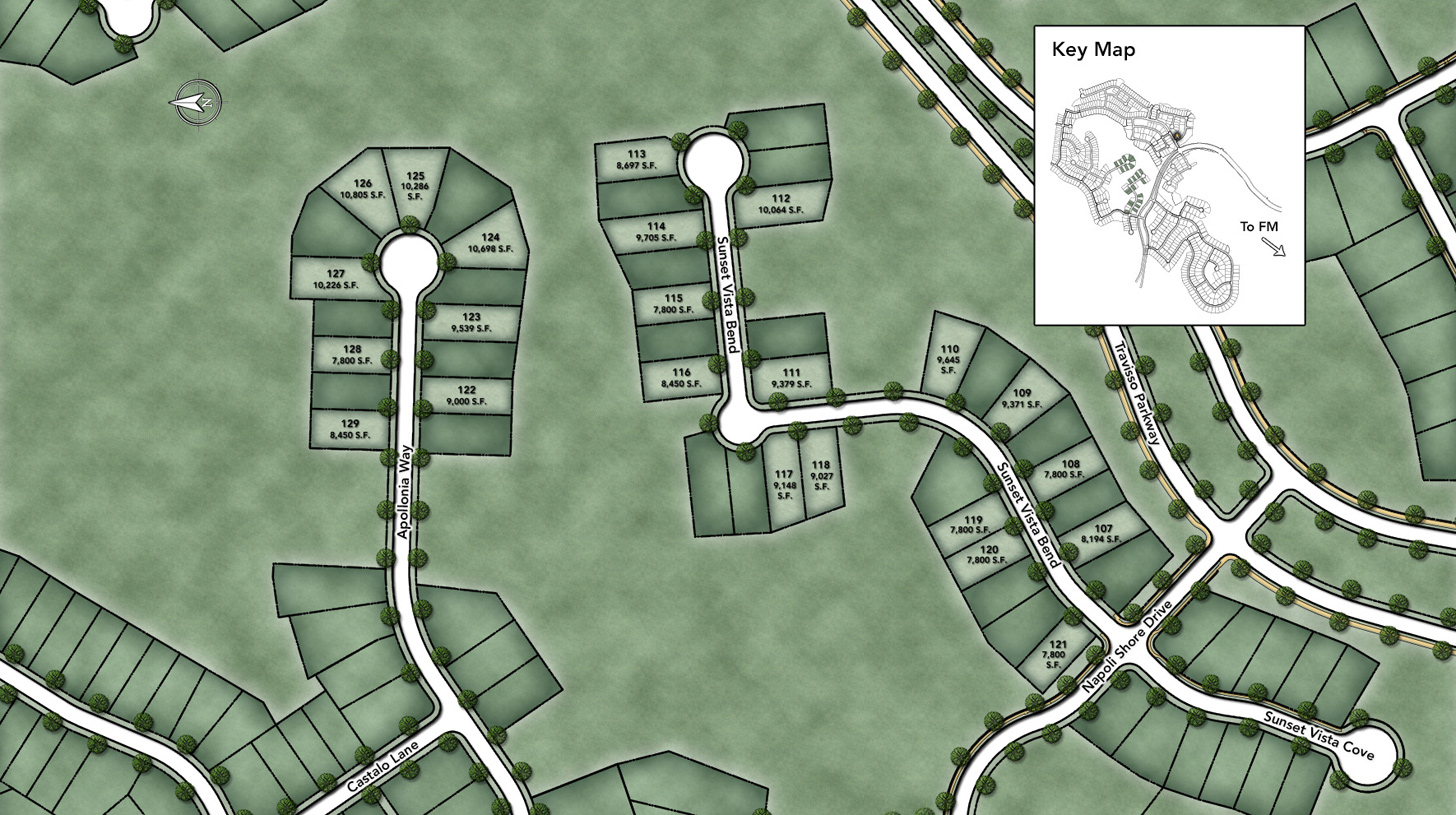 Travisso - Siena Collection Site Plan III