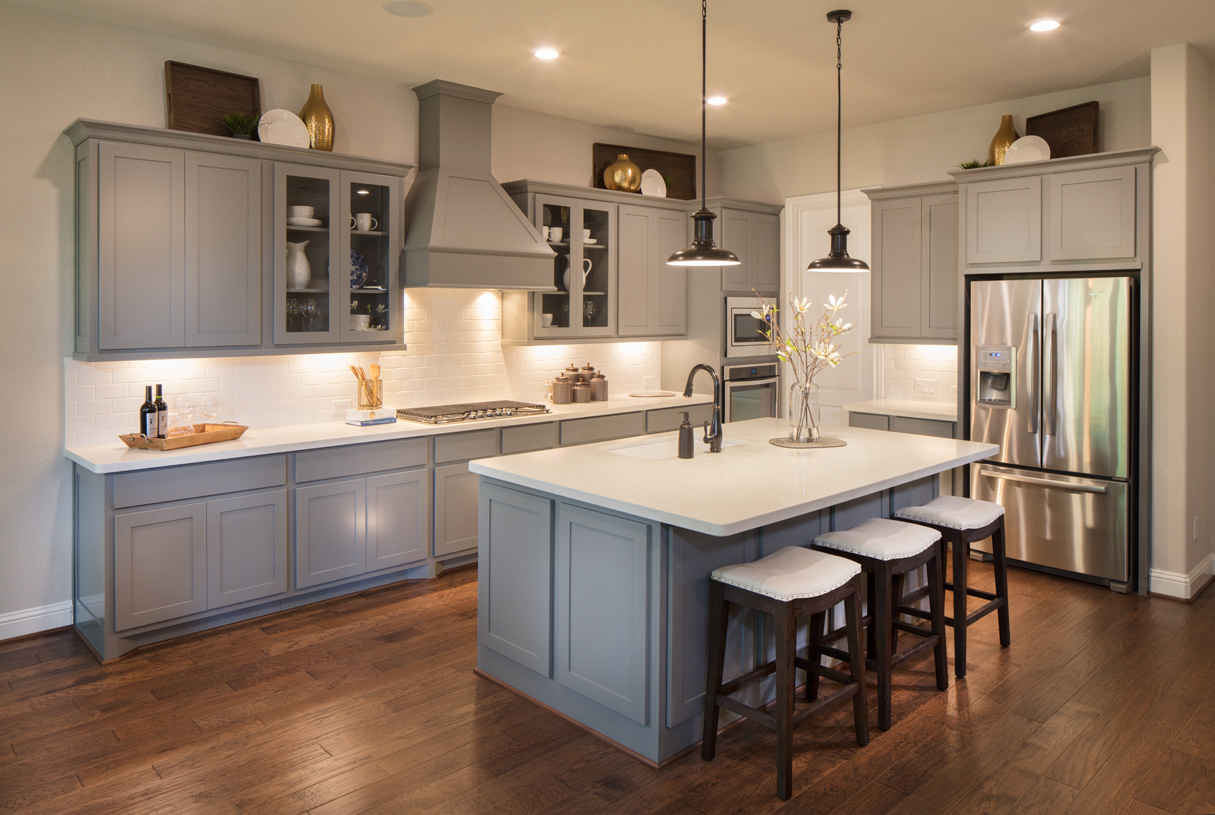 The well-designed Draper gourmet kitchen is perfect for Sunday breakfast