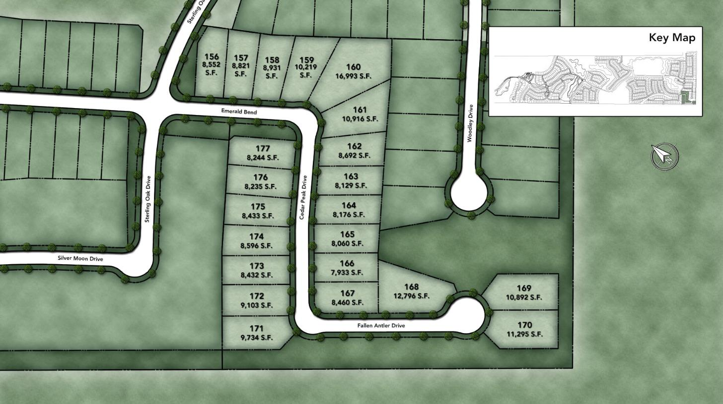 Woodson's Reserve - Select Collection Site Plan II
