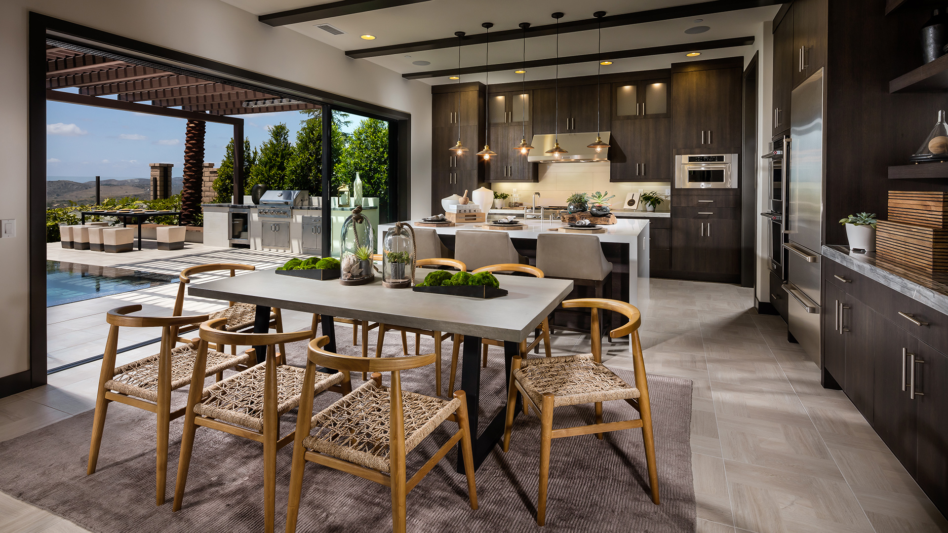 Desirable open layouts that are great for entertaining.