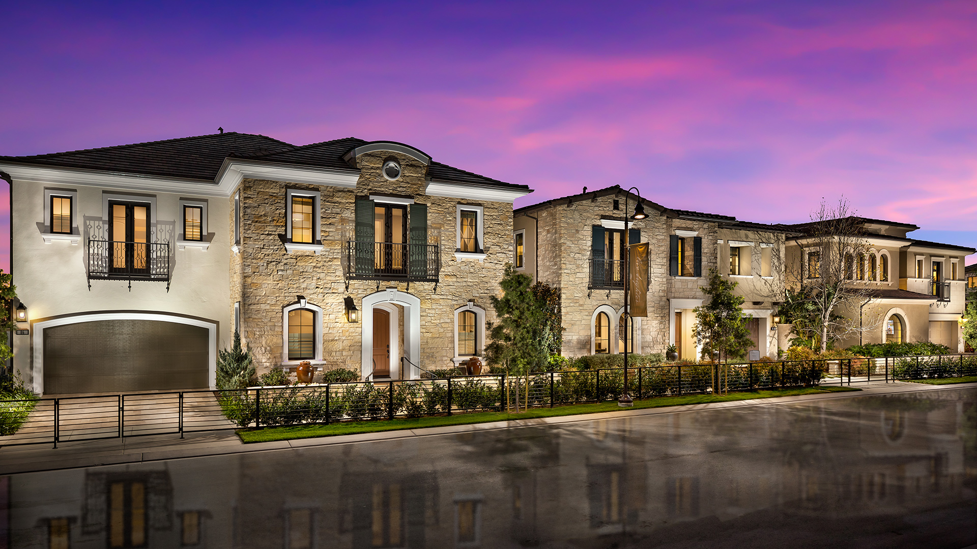 Meridian at Altair offers three home designs to choose from.