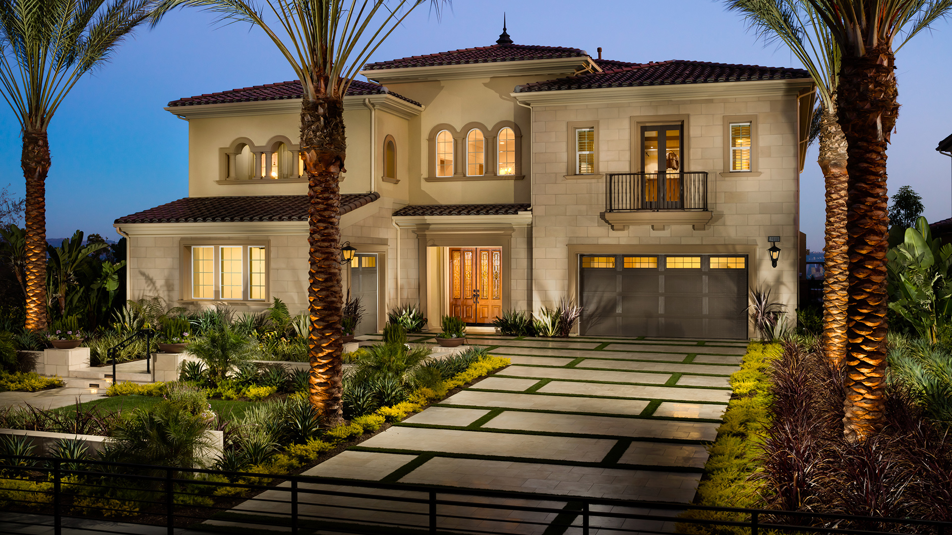 Beautiful architecture boasting Toll Brothers superior designs and quality craftsmanship.