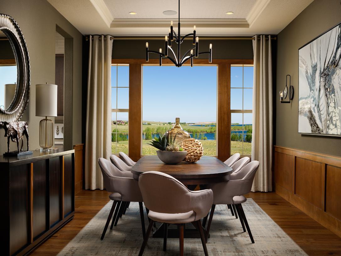 Chatfield formal dining room