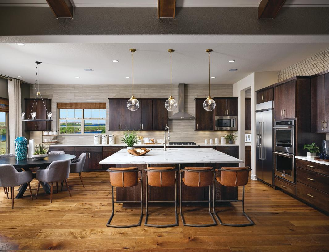 Chatfield kitchen with casual dining