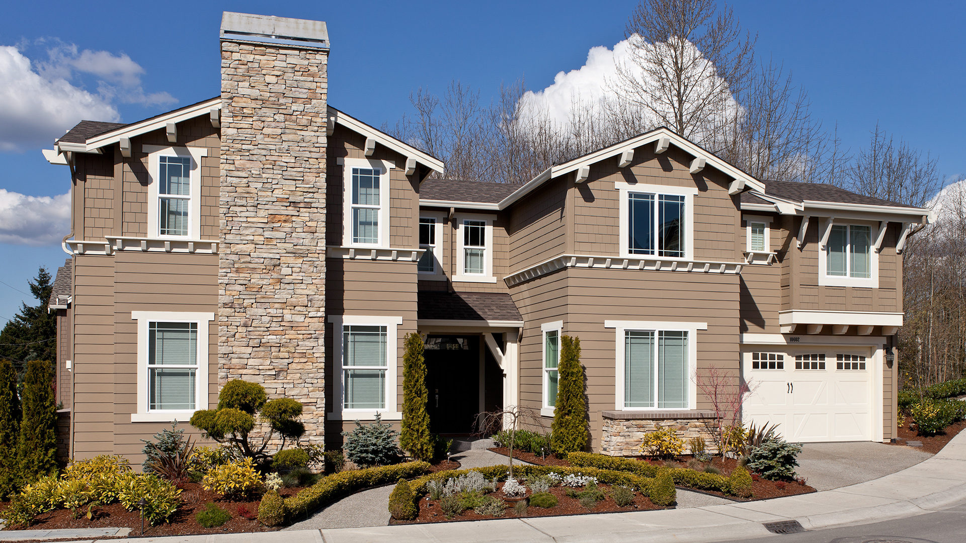 The community boasts a variety of home designs to choose from.
