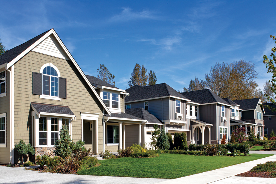 Cedarcroft offers a variety of home designs with unique exteriors creating an idyllic community.