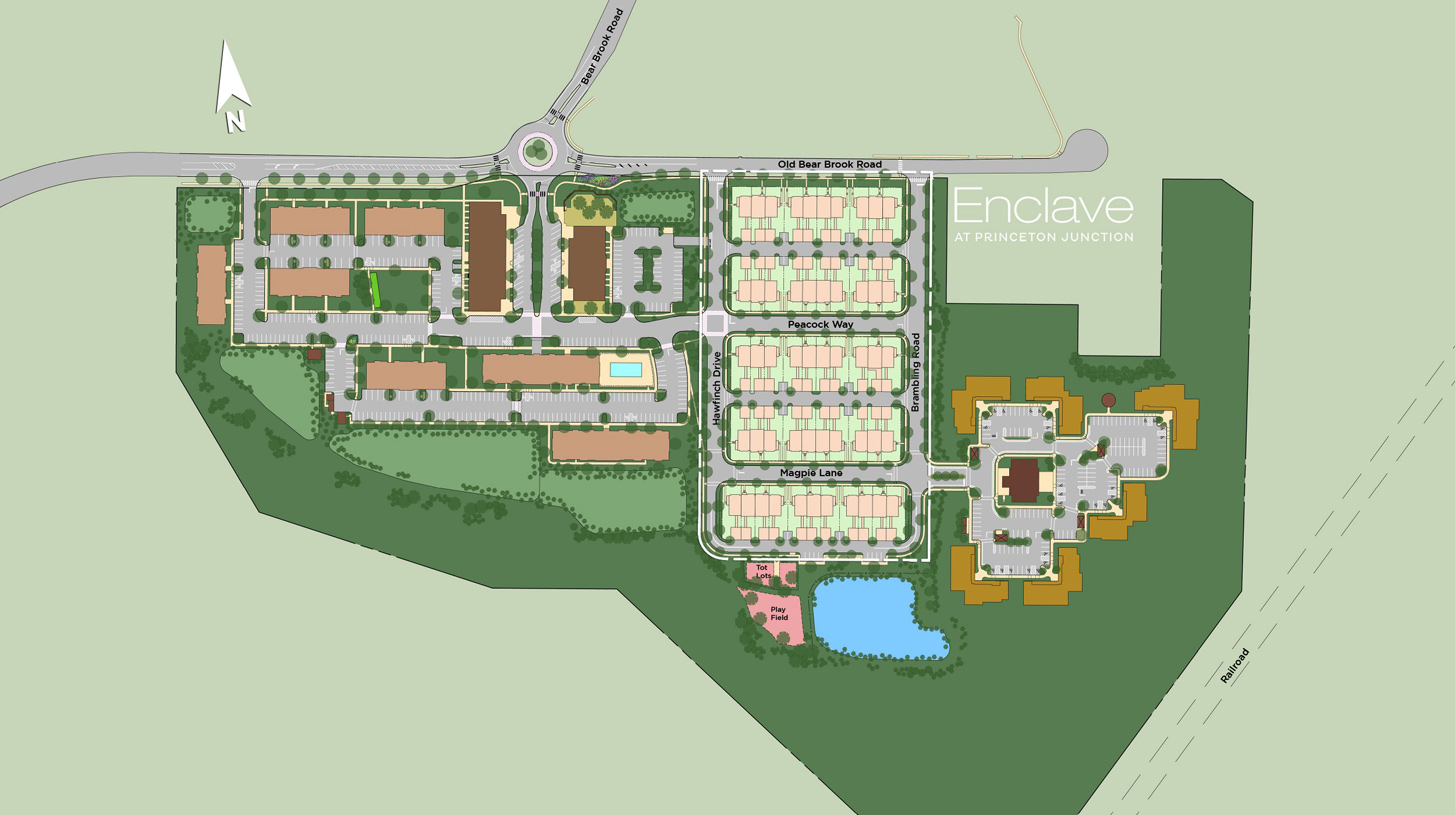 Enclave at Princeton Junction Overall Site Plan