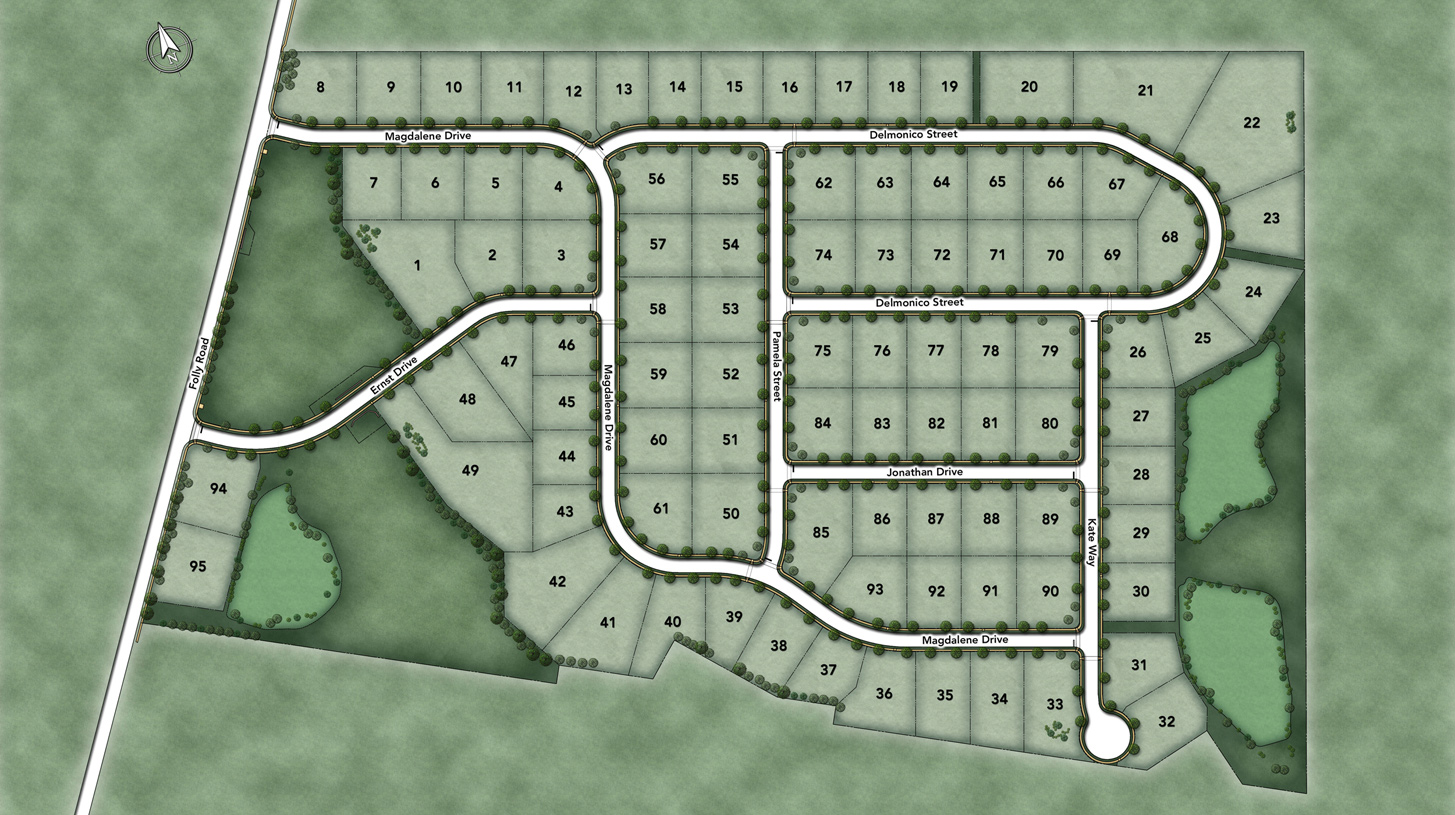 Parkview at Warrington Overall Site Plan