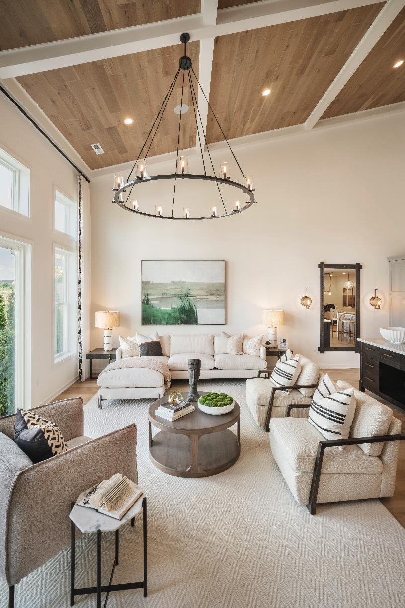 Stunning two-story causal living space