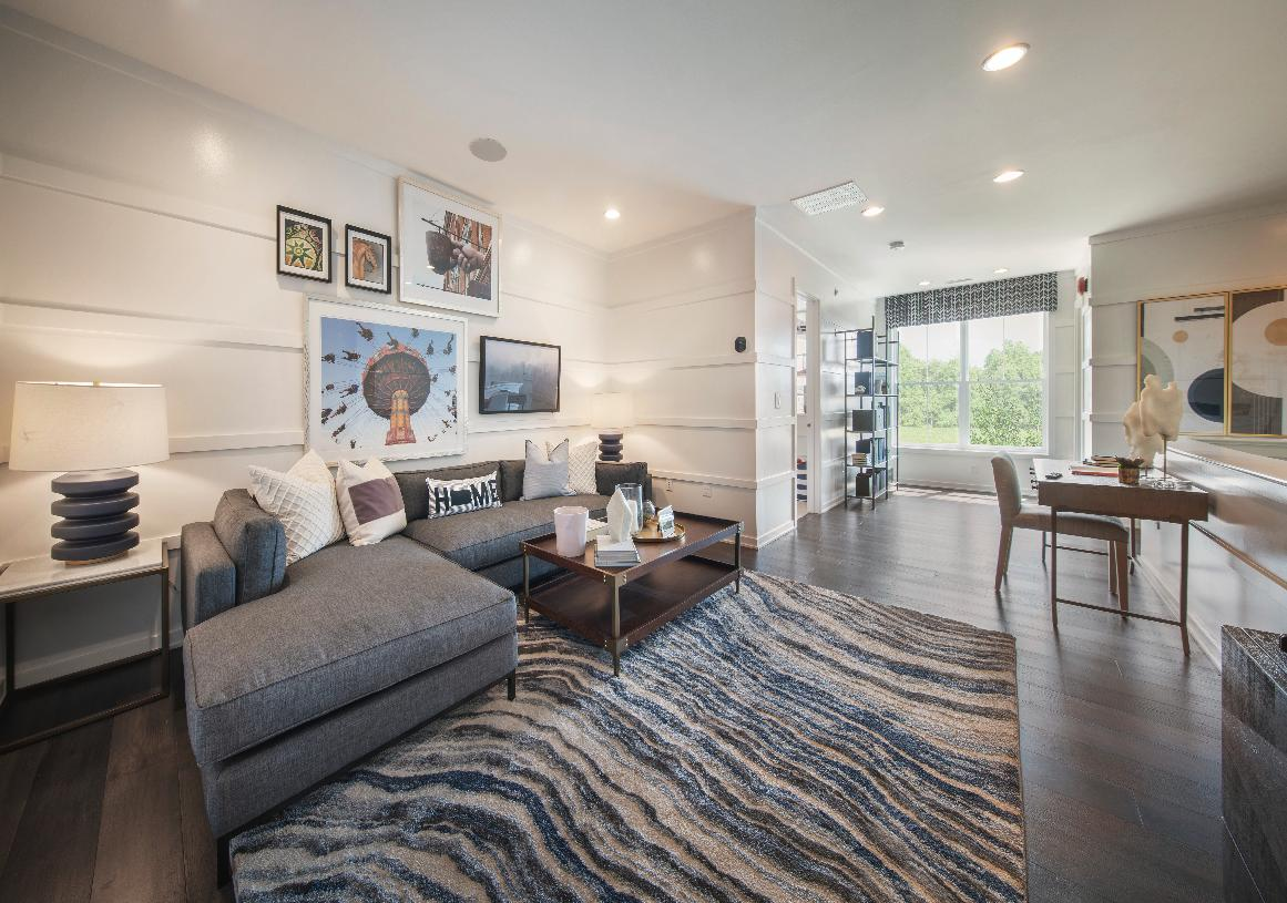 Sizable loft area for work or casual living
