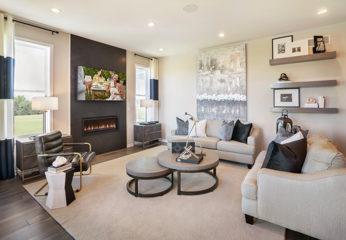 Living spaces designed for how you live