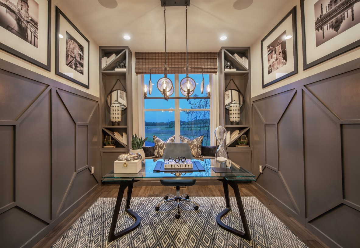 Flexible spaces for home office