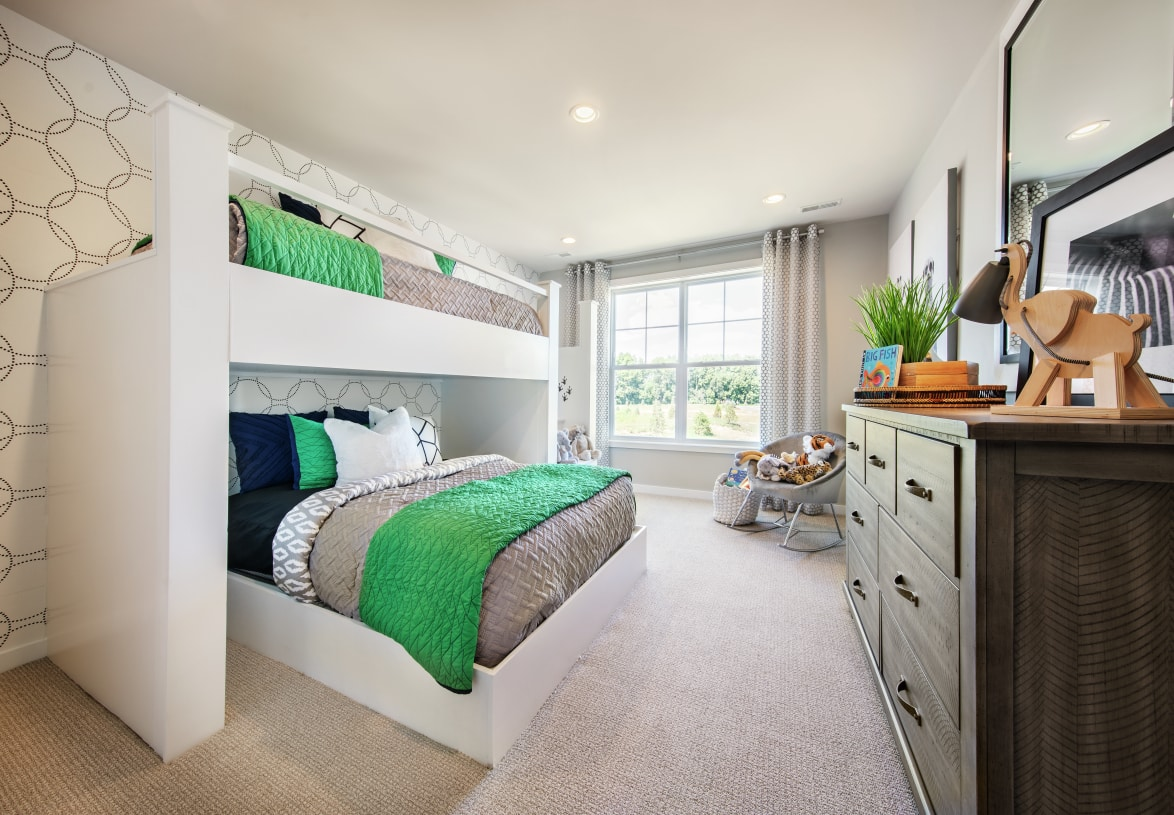 Secondary bedrooms perfect for family