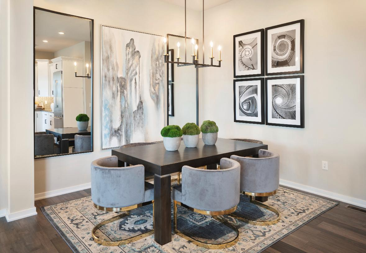 Sizable formal dining room