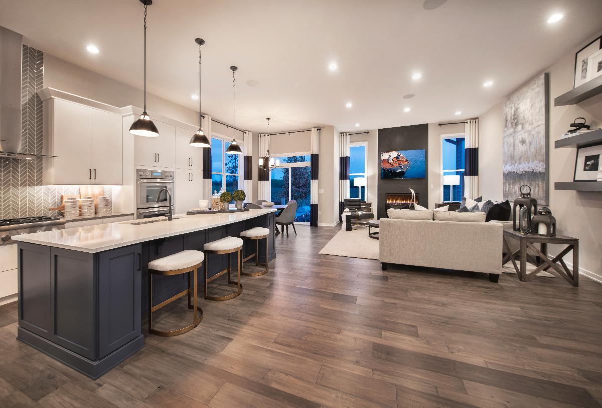 Open-concept floor plan perfect for entertaining