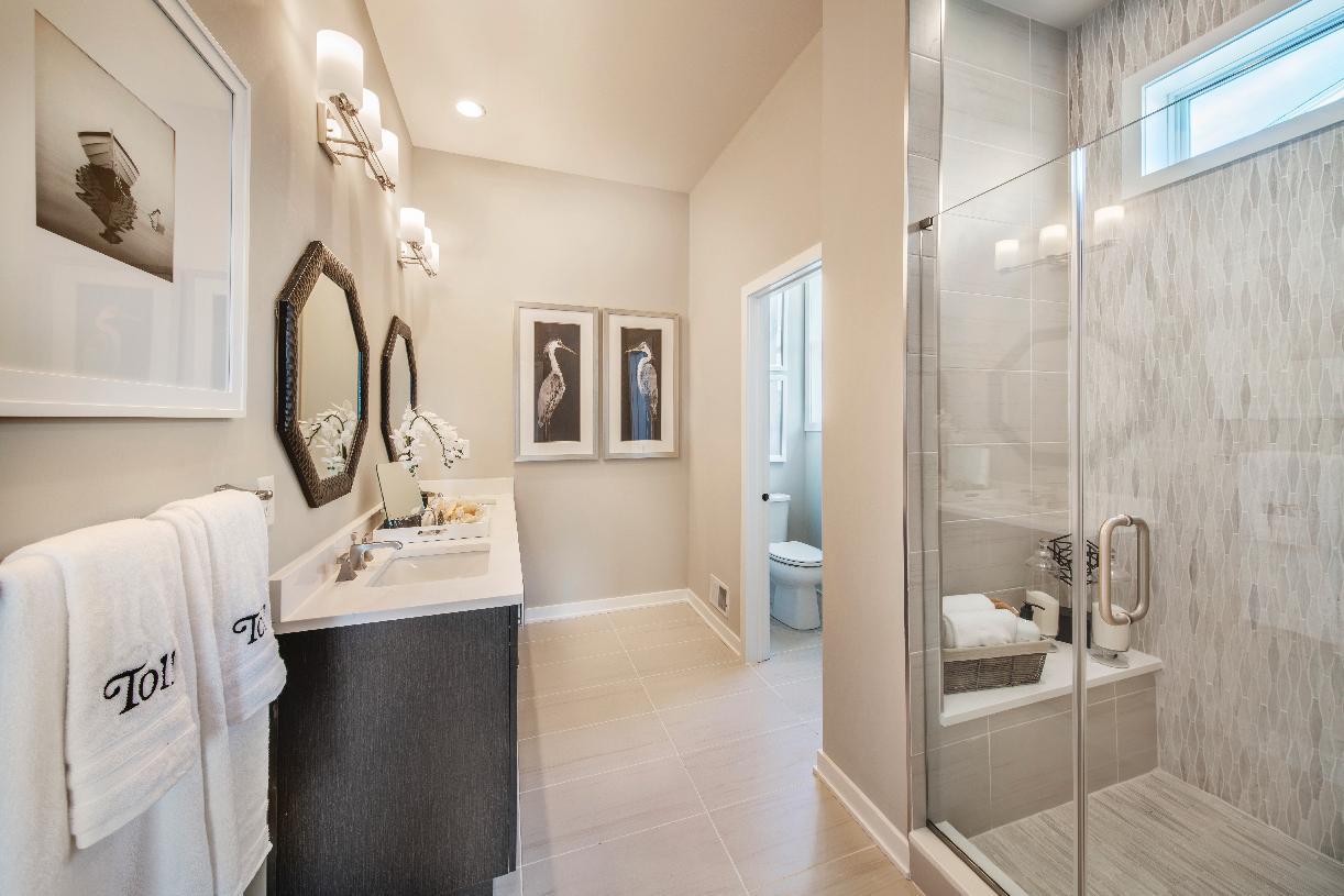 Lavish primary bathroom