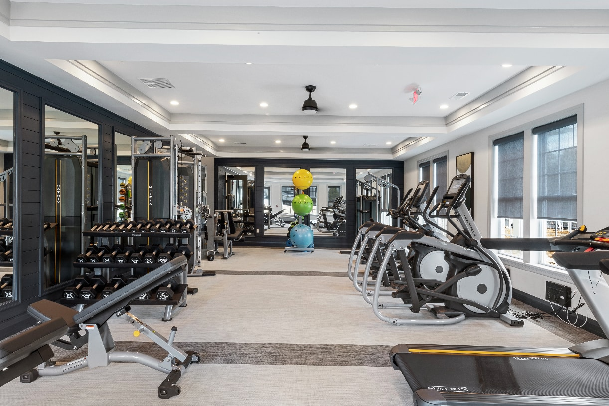 Fitness center for daily activity