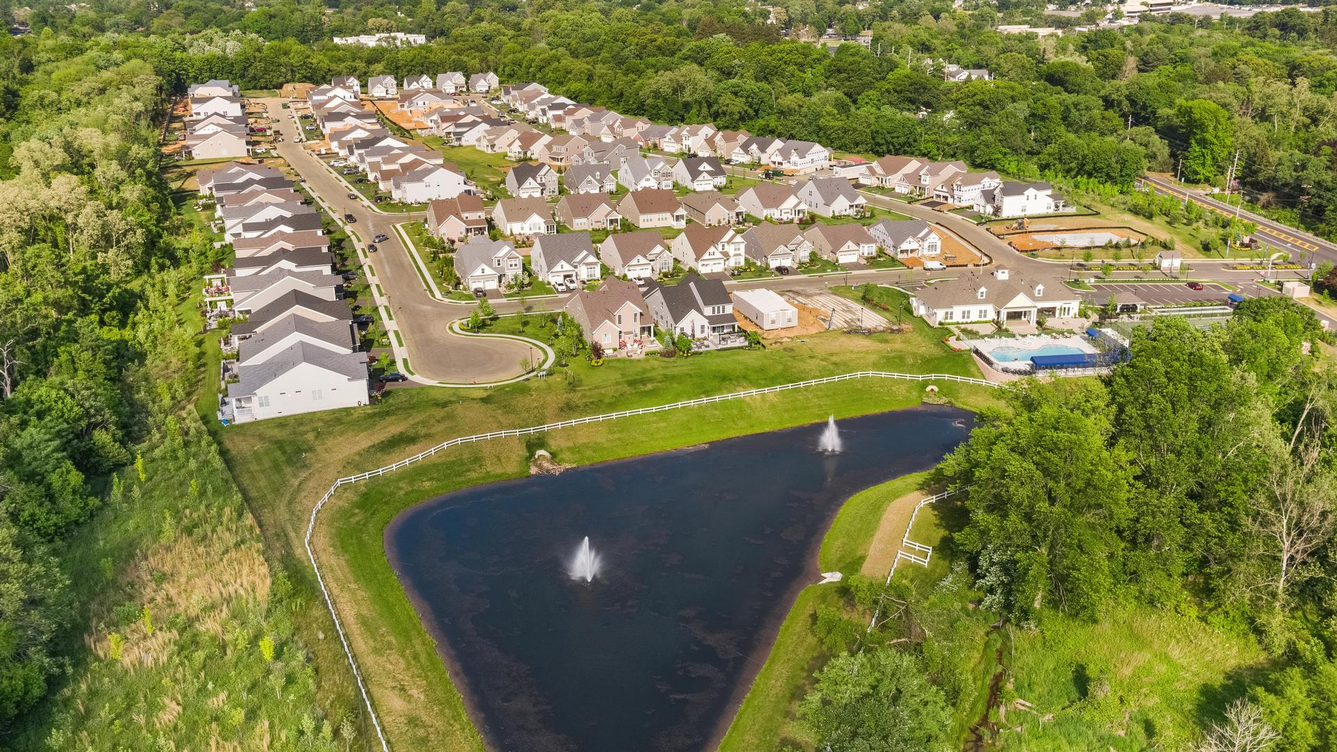Aerial view of Regency at Freehold
