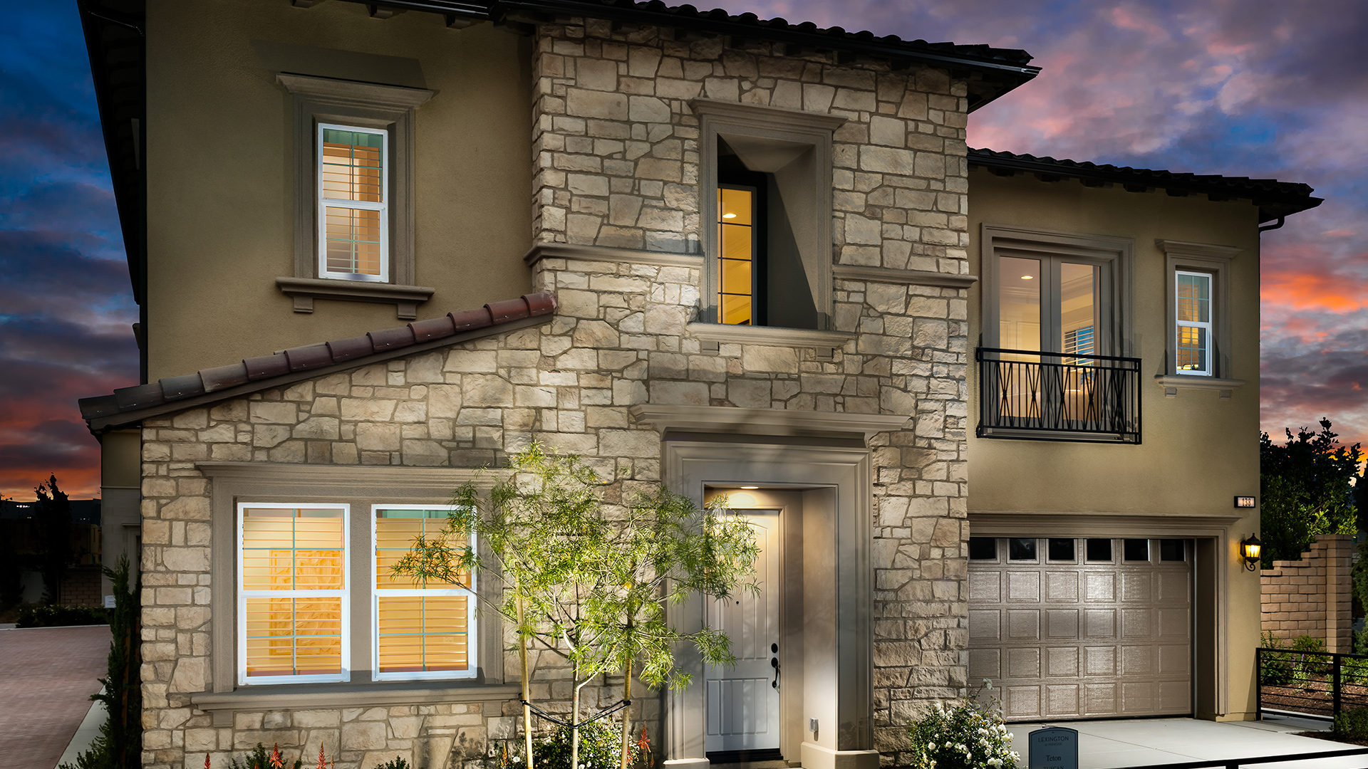 Luxurious new single-family homes at Lexington feature five 2- and 3-story home designs