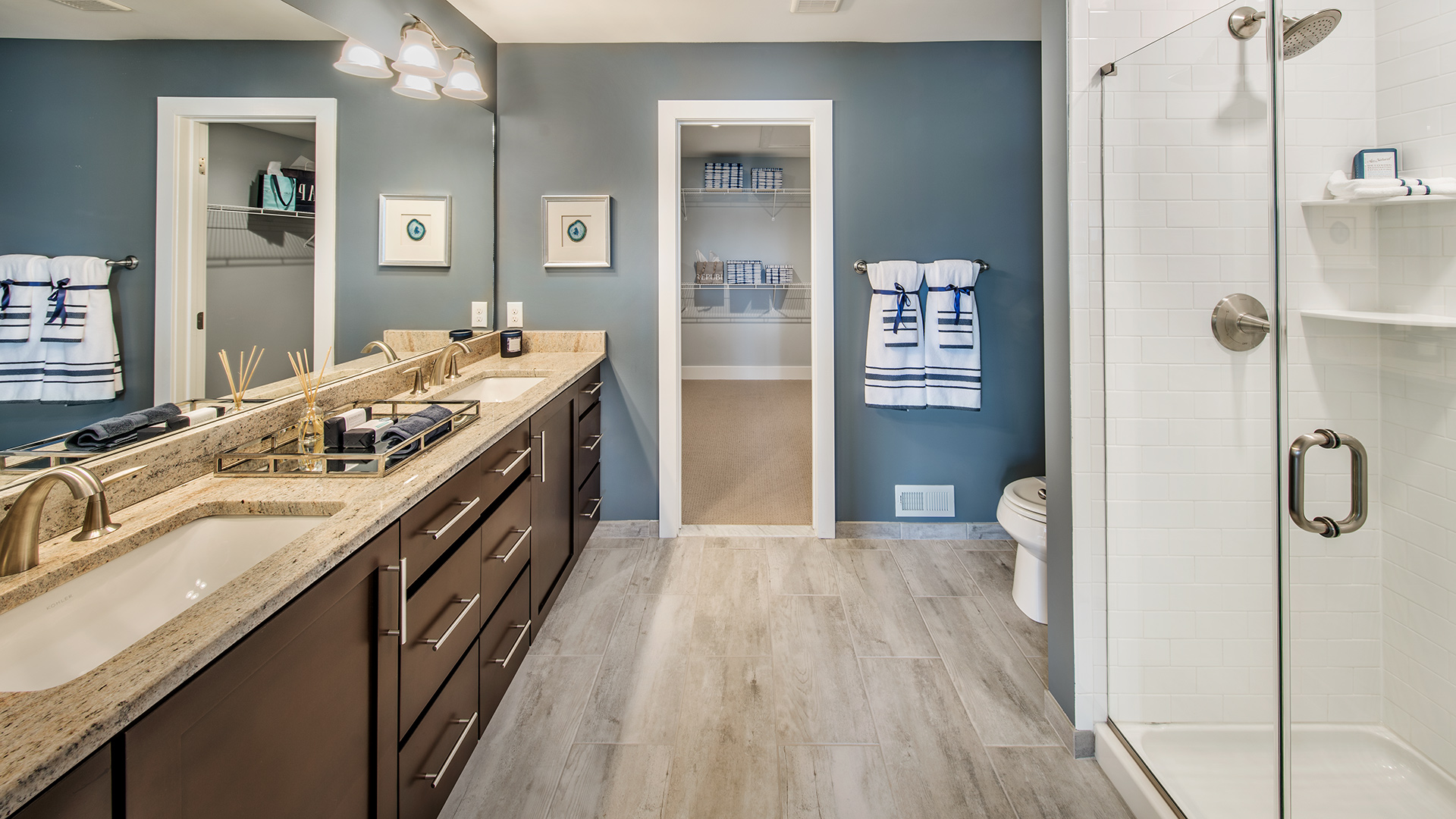 Colmar pa townhomes for sale walnut creek at montgomeryville for Walnut creek bathroom showroom