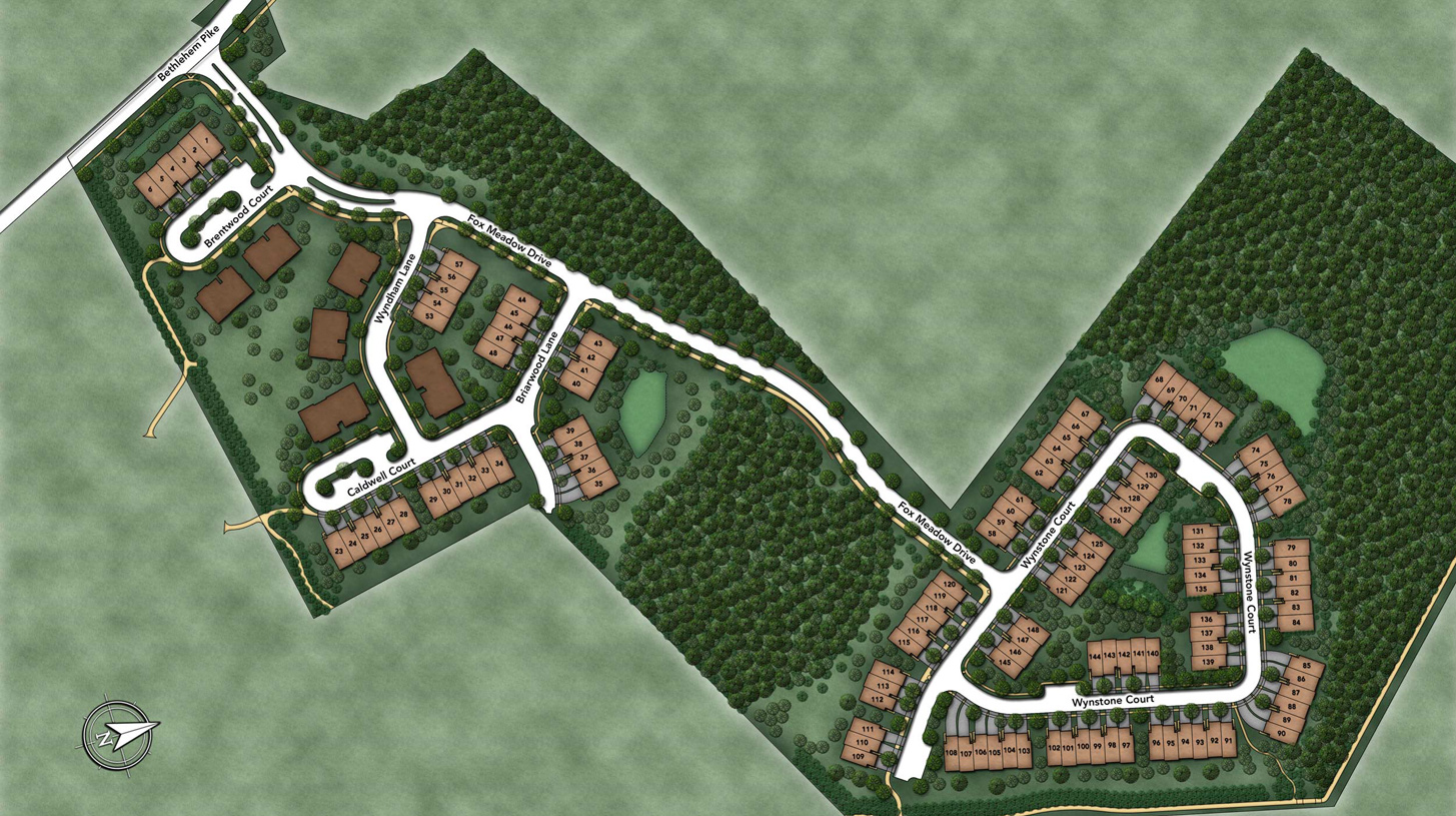 Walnut Creek at Montgomeryville Overall Site Plan