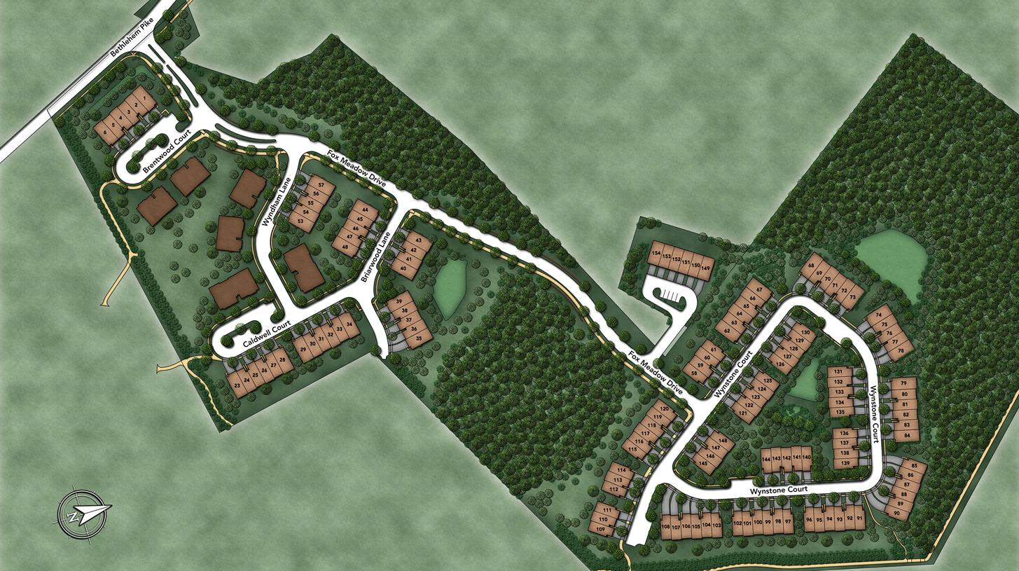 Walnut Creek at Montgomeryville Overall Site Plan