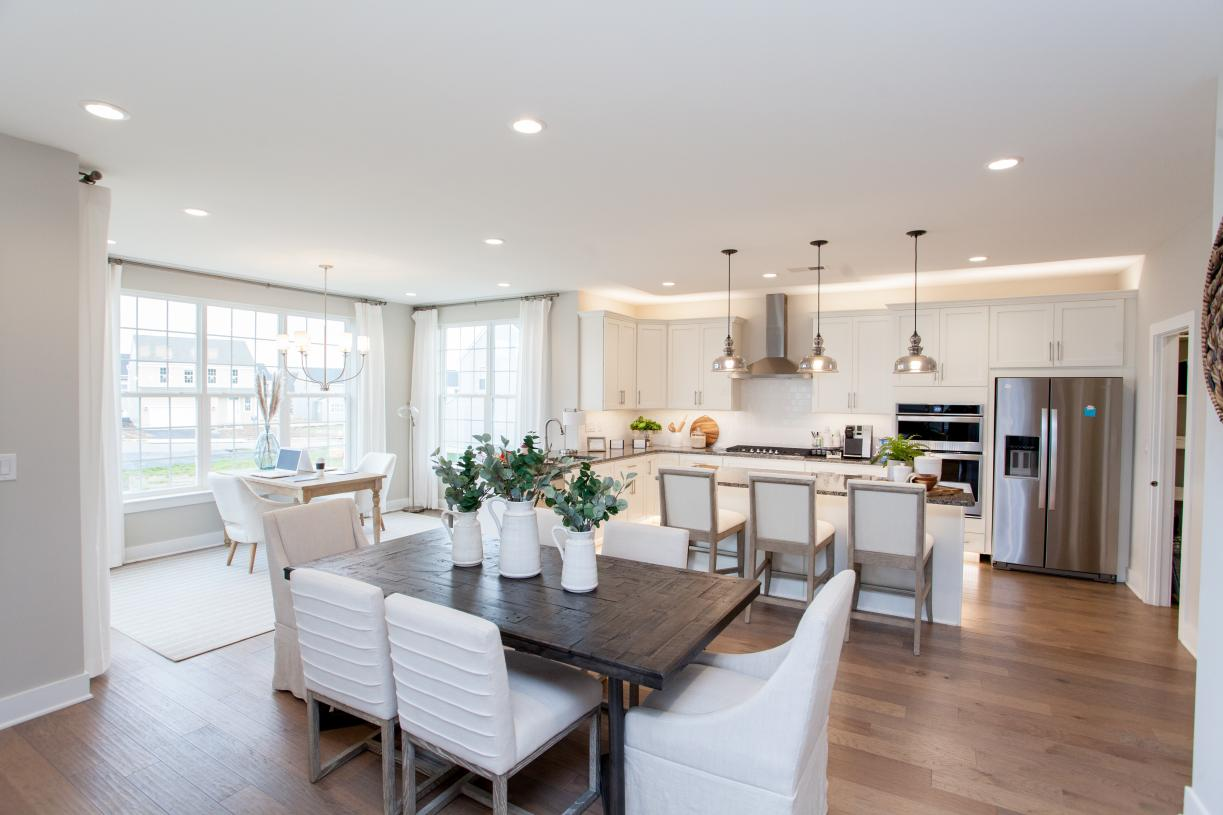 Spacious, open-concept design, great for casual living